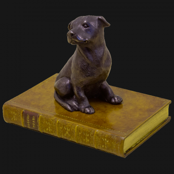 Staffie Paper Weight