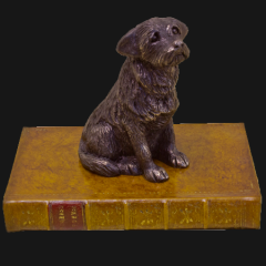 Border Terrier Paperweight