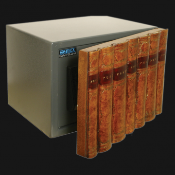 Large Electronic Bookcase Safe