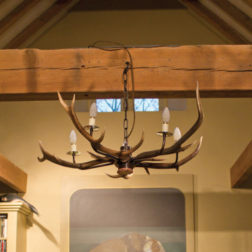 Antler 'Cottage' 5 Horn Chandelier