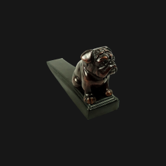 Bronze Bulldog Door Wedge