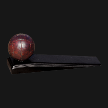 Antique Football Wedge