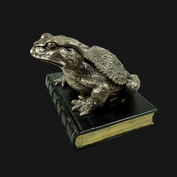 Mr Toad Bronzed Paperweight