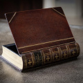 Book box with hinged lid