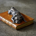 Boxer On Book Paperweight