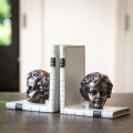Cherub Bookends Bronzed Pair