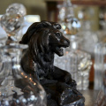 Congo Lion Bronzed Paperweight