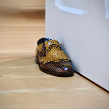 Antique Golf Shoe Doorstop