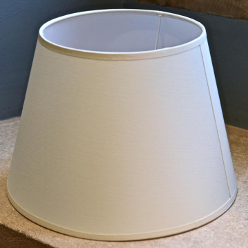"Shade 10"" Cotton Drum for Desk Lamp"