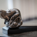 Bronzed Spaniel Door Wedge
