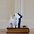 Terriers On Book Pen Holder
